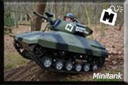 minitank, paintballtank, tankrijden, Nederland, Breda, Oosterhout, paintball, ace paintball, mannenspeeltuin