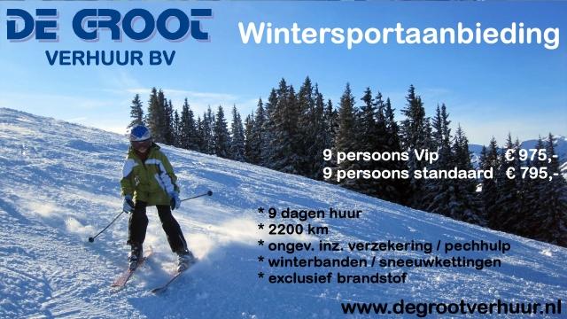 Ski vakantie bus huren de groot verhuur Roosendaal, Bergen op Zoom, Halsteren en Wouw